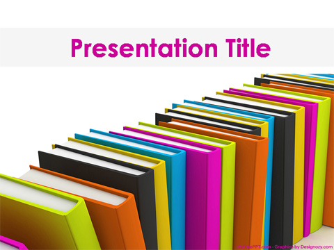 Free Books PowerPoint Template