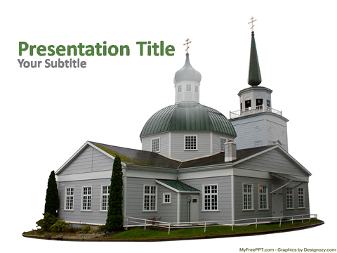 Church House PowerPoint Template
