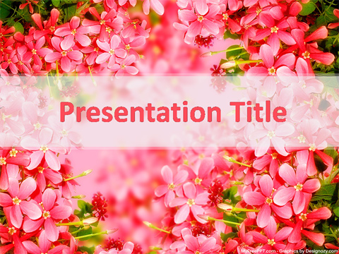 Free Spring Season PowerPoint Template