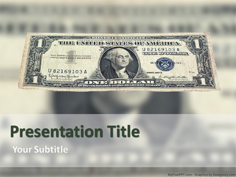 Free Dollar PowerPoint Template