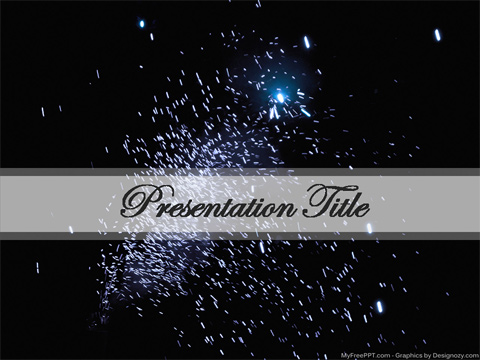 Fireworks PowerPoint Template