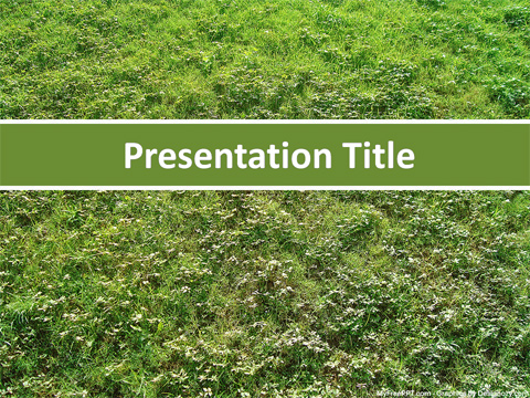 Greenery PowerPoint Template
