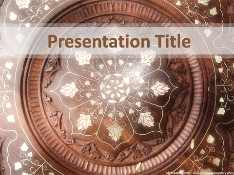 Free Indian Art PowerPoint Template