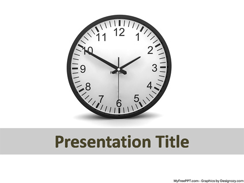 Timing Concept PowerPoint Template