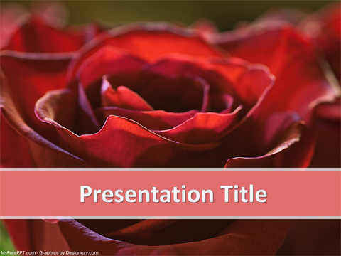 Romantic PowerPoint Template