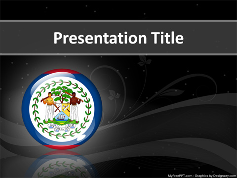 Free Belize PowerPoint Template