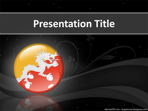 Bhutan PowerPoint Template