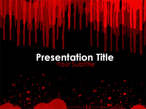 Free Crime Scene Powerpoint Template Download Free