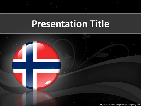 Bouvet Island PowerPoint Template
