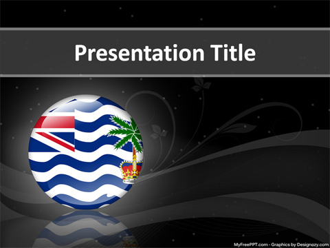 British Indian Ocean Territory PowerPoint Template