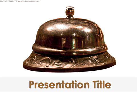Call Bell PowerPoint Template