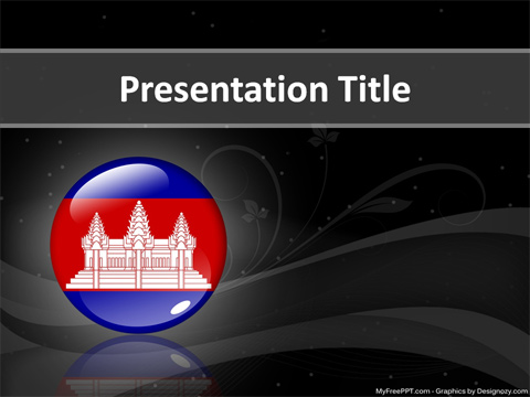 Cambodia PowerPoint Template