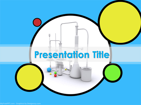 Chemistry project  PowerPoint Template