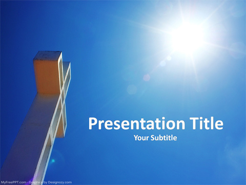 Free Christian Powerpoint Template Download Free