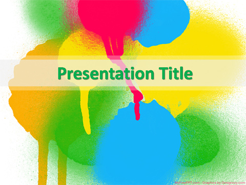 Free Watercolor PowerPoint Template