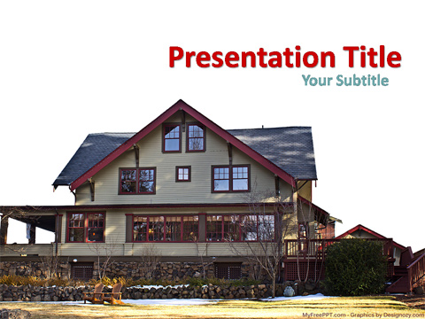 Cottage PowerPoint Template