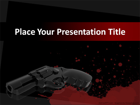 Crime PowerPoint Template