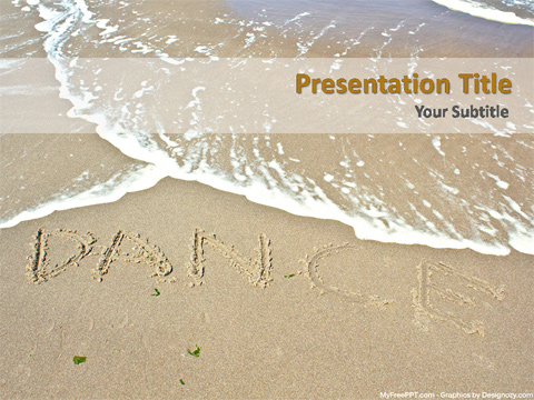 Dance PowerPoint Template