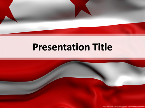 District of Columbia PowerPoint Template