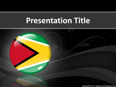 Guyana PowerPoint Template