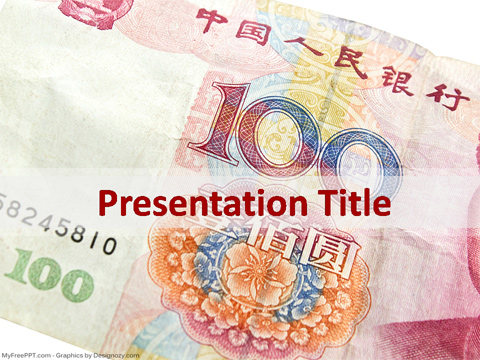 Chinese Money PowerPoint Template