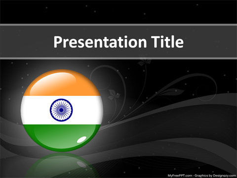 Free India PowerPoint Template
