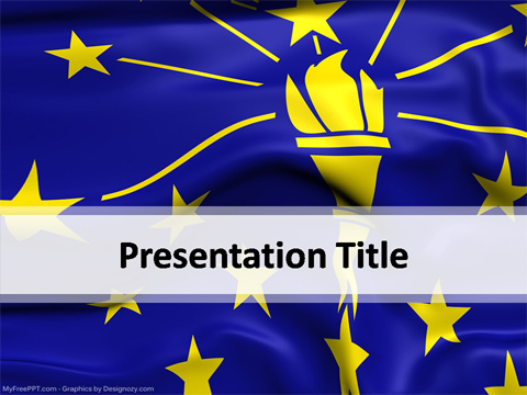 Indiana PowerPoint Template