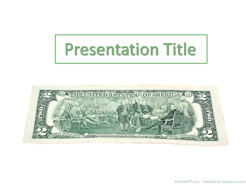 Invest Money PowerPoint Template