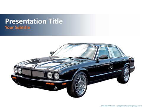 Luxury Car PowerPoint Template