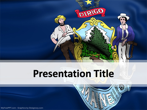 Maine-PowerPoint-Template