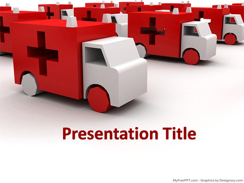Free Medical PowerPoint Template