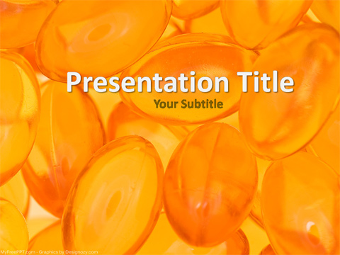 Free Medicines PowerPoint Template