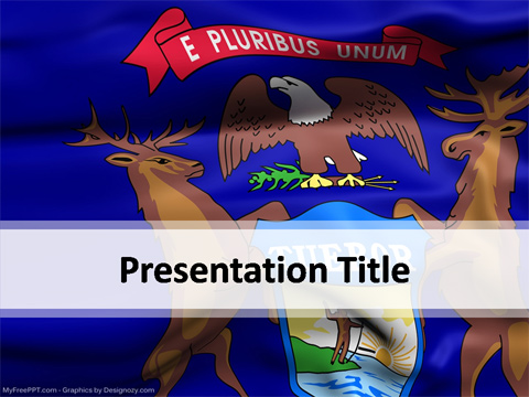 Michigan PowerPoint Template