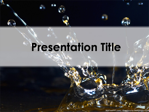 Free Chemical PowerPoint Template