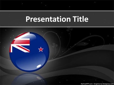 Free New Zealand Powerpoint Template Download Free