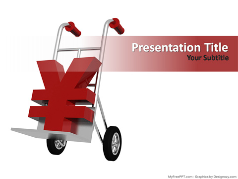 Free Online Shopping PowerPoint Template