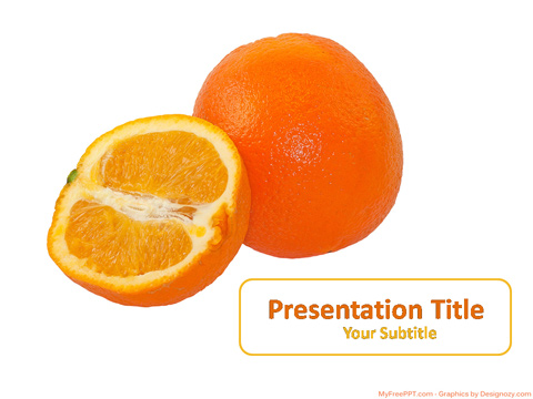 Free Orange Powerpoint Template Download Free Powerpoint Ppt