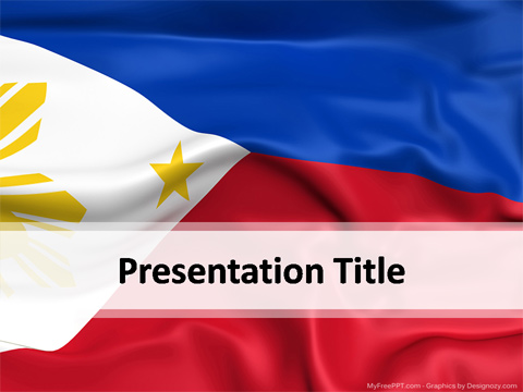 Philippines PowerPoint Template Download Free PowerPoint PPT