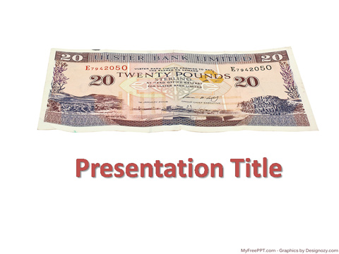 Pound Currency PowerPoint Template
