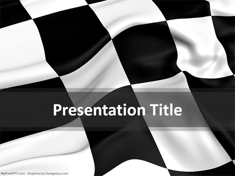 Racing-Checkered-PowerPoint-Template