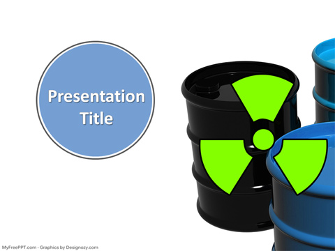 Free Radiation PowerPoint Template