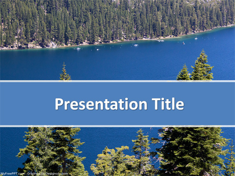 River Boating PowerPoint Template