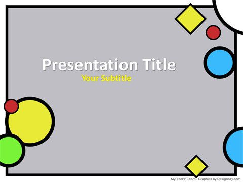Free Scrapbook PowerPoint Template