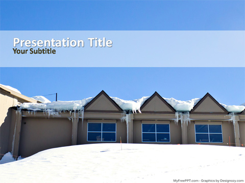 Snowhouse PowerPoint Template