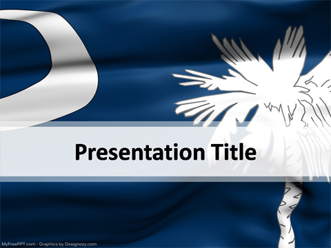 South Carolina PowerPoint Template