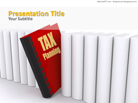 Tax Planning PowerPoint Template