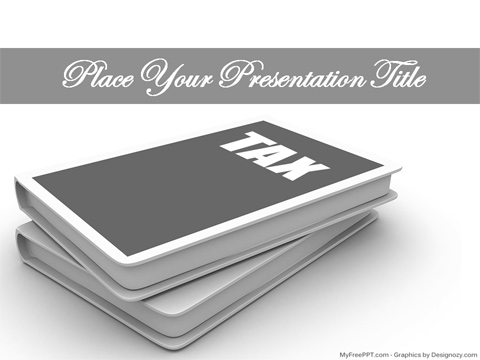 Free Taxation PowerPoint Template