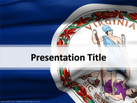 Virginia PowerPoint Template