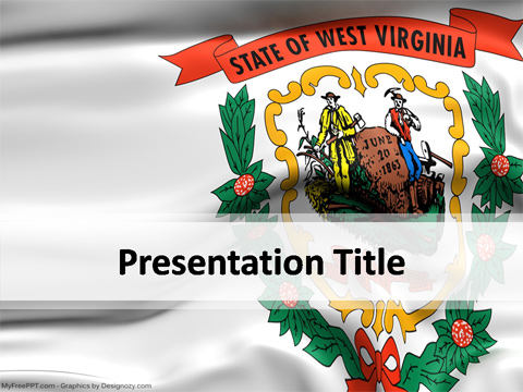 West Virginia PowerPoint Template