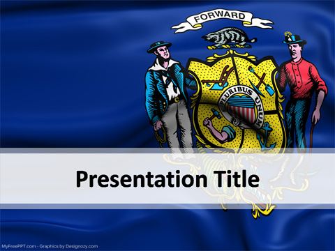 Wisconsin PowerPoint Template